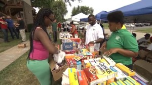 Ferguson community volunteers help out residents affected by recent protests