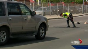 Woman seriously injured after gas and dash