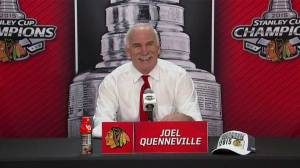 Quenneville: It's the greatest feeling in the world