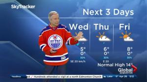 Edmonton early morning weather forecast: Wednesday, April 26, 2017