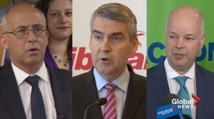 Nova Scotia party leaders in last push to convince swing voters