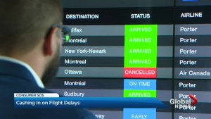 Quebec company making airline compensation easier for flyers