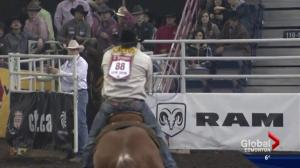 'Strong' Canadian Finals Rodeo in Edmonton