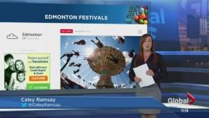 K-Days parade coverage on Global Edmonton