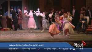 Scott Fee and Amber Schinkel in the Nutcracker