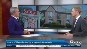 How will homeowners be affected by a higher interest rate?