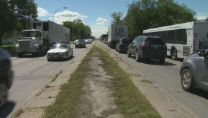 Rock thrown from city lawn mower damages Winnipeggers' car