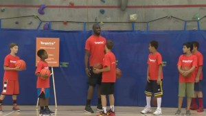 NBA star shares tips and inspires local youth at Community Gym day