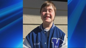 Kansas school asks special needs athlete to remove varsity letter
