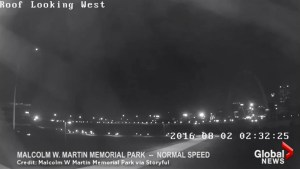 Mysterious lights captured on security camera in the skies over St. Louis