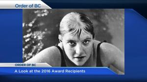16 recipients named to the Order of British Columbia