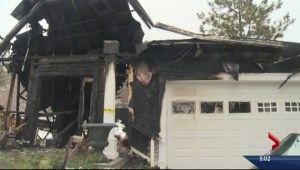 Okanagan house fire forces family to flee