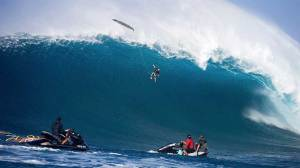Surfer's epic 40 foot fall goes viral