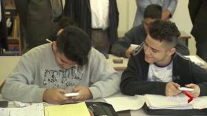 Syrian refugees start school in Surrey