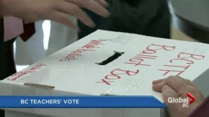 BC teachers dispute: Results of the vote tonight