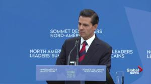 Mexican president responds to Trump's 'anti-Mexican' rhetoric