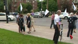 EMSB budget protests