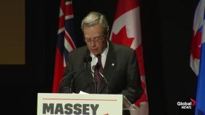 Joe Oliver says Jim Flaherty's love for Massey Hall spurred revitalization project