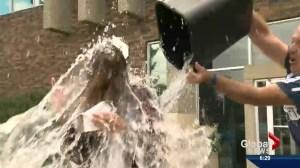 Global girls do the Ice Bucket Challenge