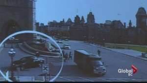 RCMP release chilling surveillance video of Ottawa shooter