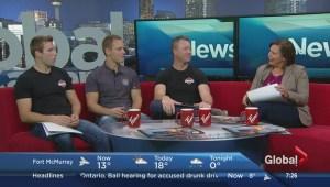 Calgary Firefighters Burn Treatment Society launches their annual Hotstuff Calendar