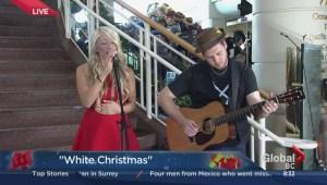 Madeline Merlo sings 'White Christmas'