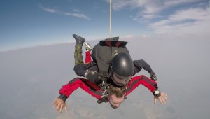 Global News reporter jumps from plane