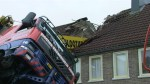 RAW: Crane crashes into home during proposal attempt