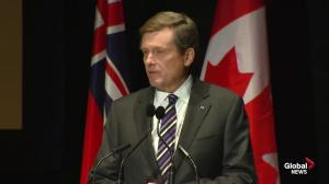 John Tory talks personal connection to Massey Hall