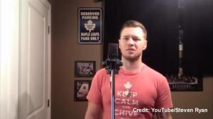 Disgruntled Leafs fan sings his frustrations in 'Say Something' parody