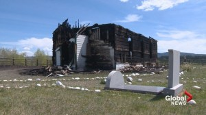 Historic Old McDougall Church destroyed by fire