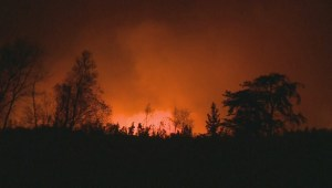 Residents return home after wildfires near Caddy Lake, Manitoba