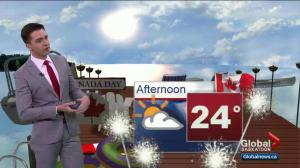 Saskatoon weather outlook – heating up for Canada Day long weekend!