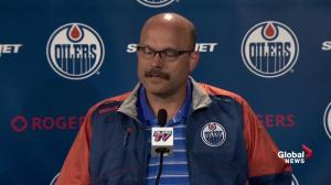 Oilers GM Peter Chiarelli: Taylor Hall disappointed to be traded from Oilers