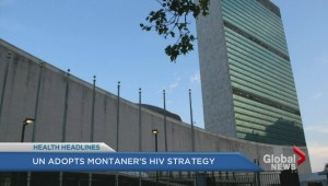 UN adopts BC doctor's HIV strategy