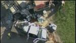 Collision on Perimeter Highway involving semi-truck