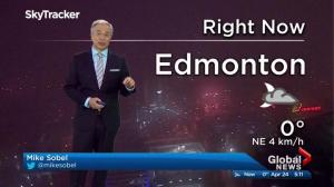 Edmonton early morning weather forecast: Monday, April 24, 2017