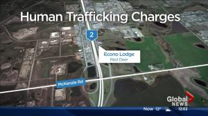 Couple charged with human trafficking