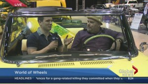Big Daddy Tazz cruises through World of Wheels