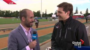 TrackTown Classic underway at Edmonton's Foote Field