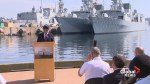 Ottawa pledges 'ironclad' commitment to carry through new warship fleet
