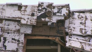 Severe storm takes the roof off Winnipeg apartment complex