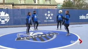 Montreal Impact unveils mini-pitch