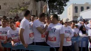 Thousands participate in West Bank marathon