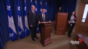 Quebec not pleased with federal budget