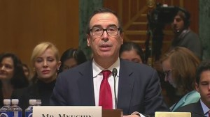 Treasury secretary nominee Steven Mnuchin says he was maligned over his record during financial crisis