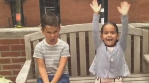 Kids react to the first day of school