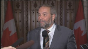 Tom Mulcair says Canadians 'deserve better' over discrepancy in cost of Trudeau Washington trip
