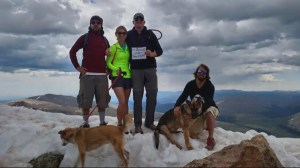 Hiker's dog killed after lightning strikes on Colorado mountain