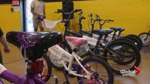Sun Youth bike distribution